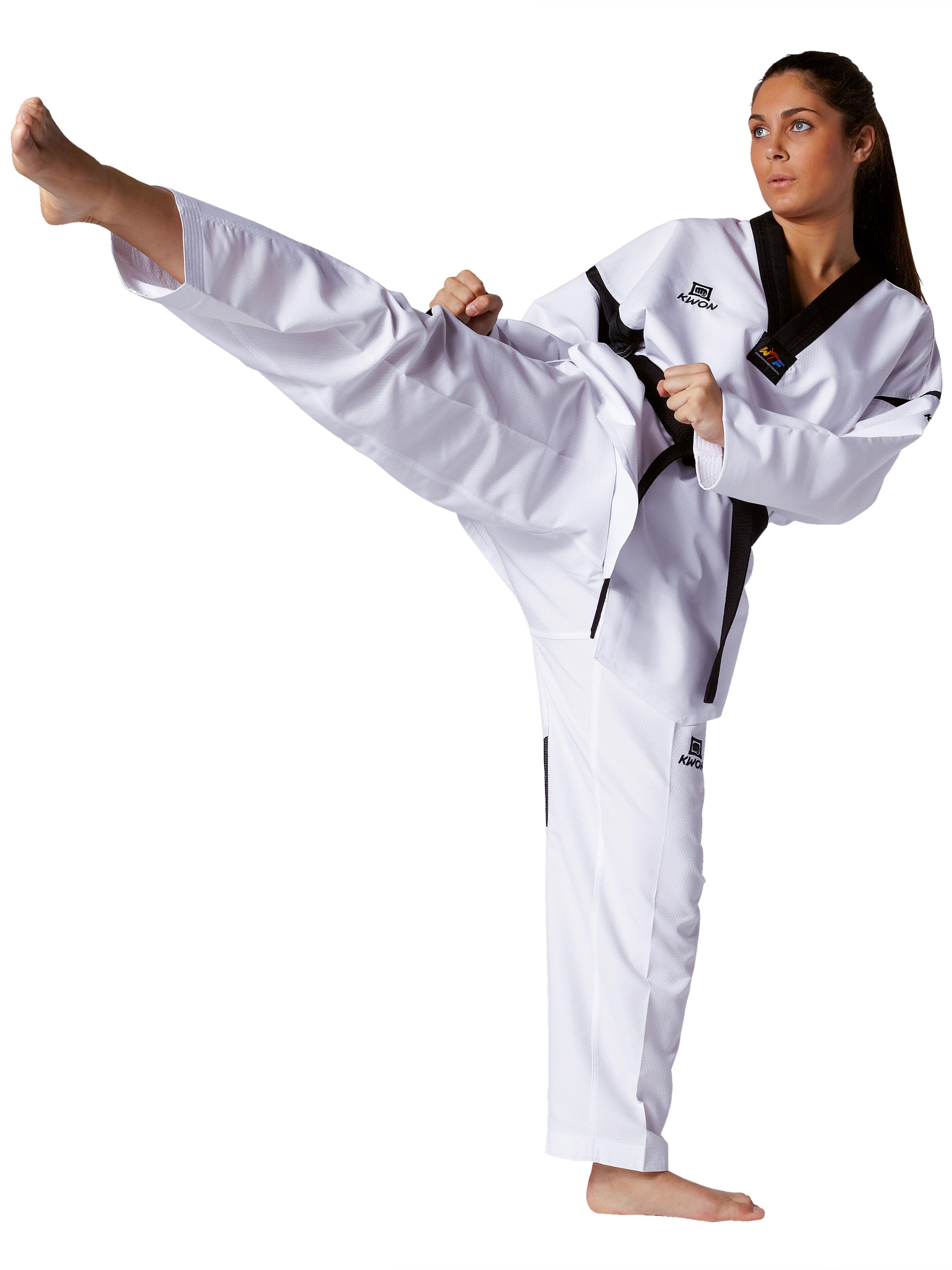 kwon kinder kampfsportanzug taekwondo song wei 120 cm. Black Bedroom Furniture Sets. Home Design Ideas