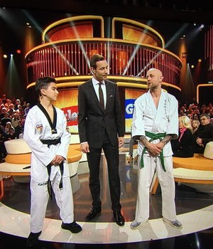Taekwondo Duell Bei Ard Show Klein Gegen Gross News