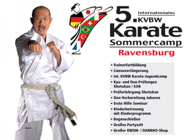 Karate-Sommercamp
