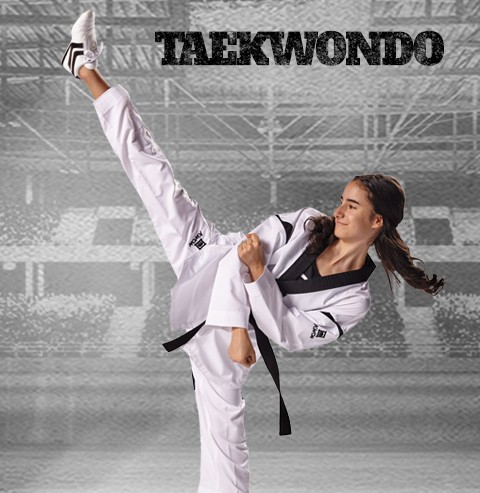 Taekwondo 4cm breit Karate Kwon Kampfsport Gürtel Kickboxen Judo Ju Jutsu